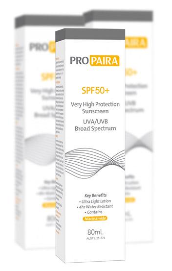 Pro Paira SPF50+ Sunscreen